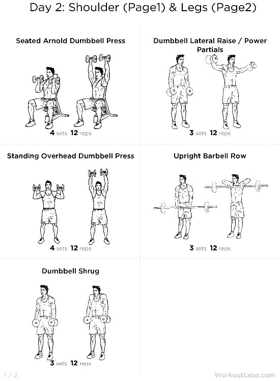 free home fitness workout exercises